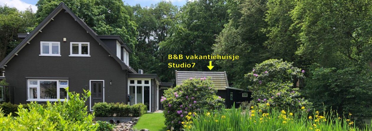 B&B vakantiehuisje Studio7 – Hoenderloo